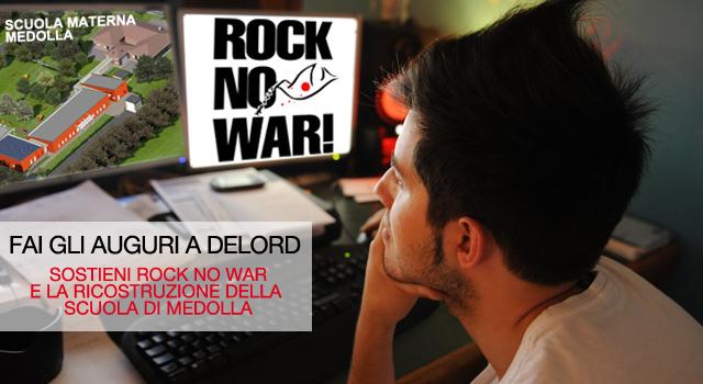 Delord sostiene RockNoWar nella ricostruzione della nuova scuola di Medolla